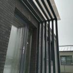 Metalinės stogelių konstrukcijos