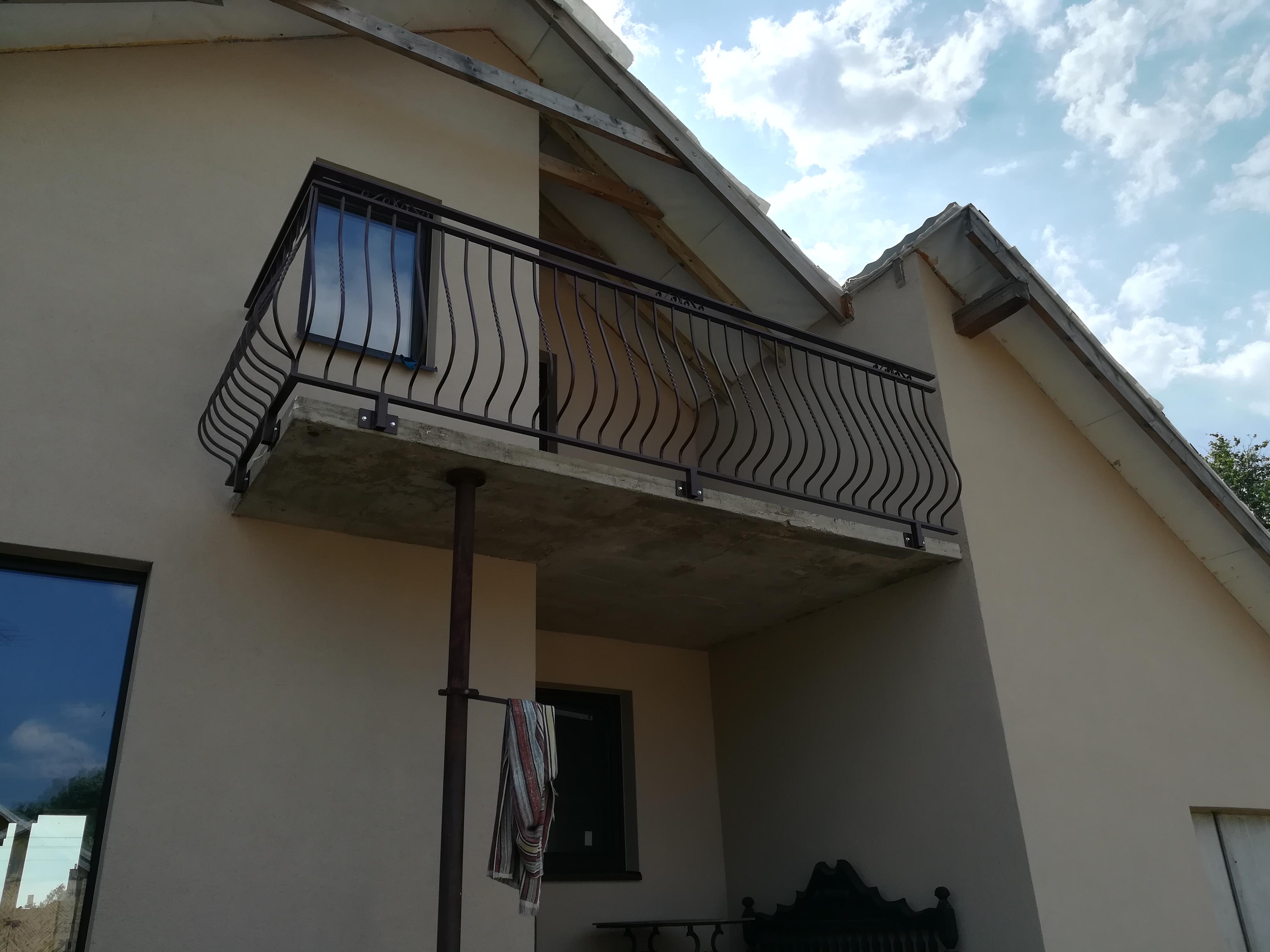 Balkono turėklai
