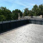 Apsauginė stogo tvorelė
